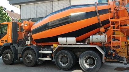 Assurance camion béton